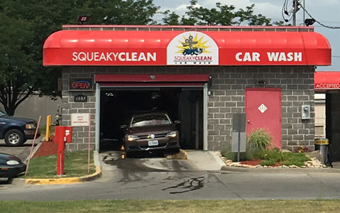 Squeaky clean tunnel and self serve car wash oil change and dog wash lees summit mo high pressure automatic wash and self solutioingenieria Choice Image